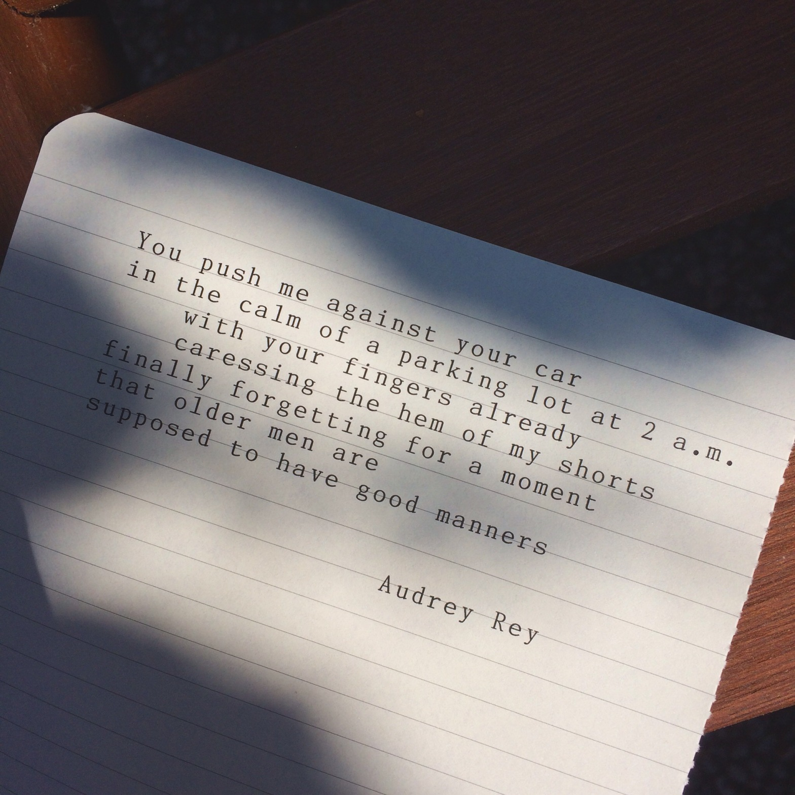 audrey rey